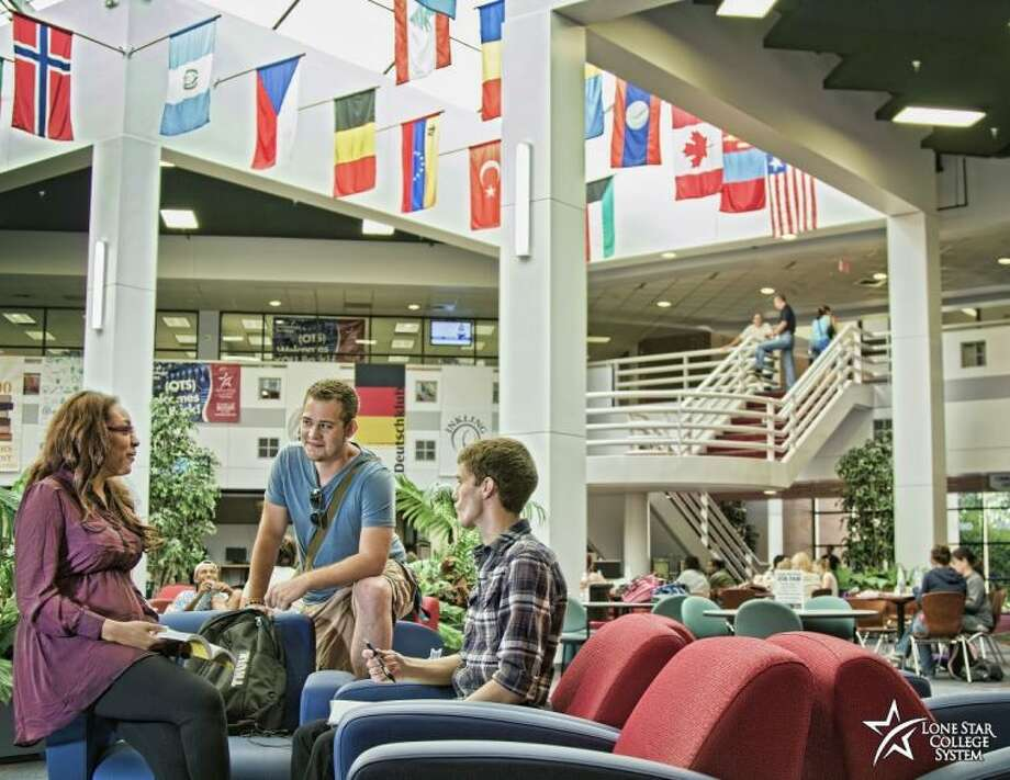 Lone Star College System opens doors to more than 2,100 students from nearly 100 countries. Photo: Submitted Photo