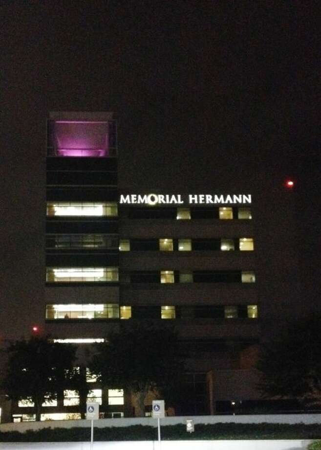 During November - also Prematurity Awareness Month - Memorial Hermann Katy Hospital is lighting up purple to raise awareness of prematurity, the leading killer of American newborns. Photo: Submitted