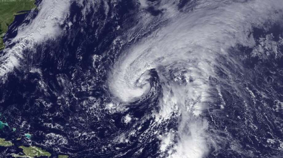 Suomi NPP satellite peers into Tropical Storm Andrea, the first storm of the season. Photo courtesy NOAA/NASA.