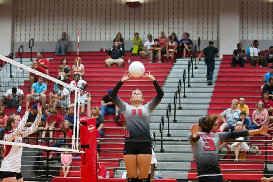 Huffman's Kelsie McEachern was named the All-District 22-3A Setter of the Year by league coaches recently.