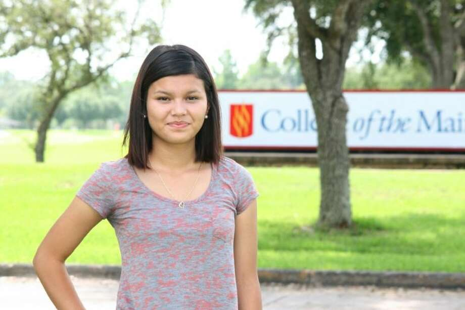 COM graduate and first COM Ambassador Janeth Rodriguez uses her story to help others enroll in college and learn that education is possible for anyone. Photo: Courtesy College Of The Mainland