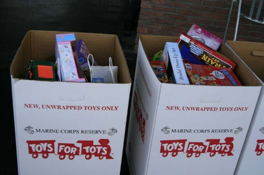 Businesses throughout the community will collect toys for children in the community for Toys for Tots.