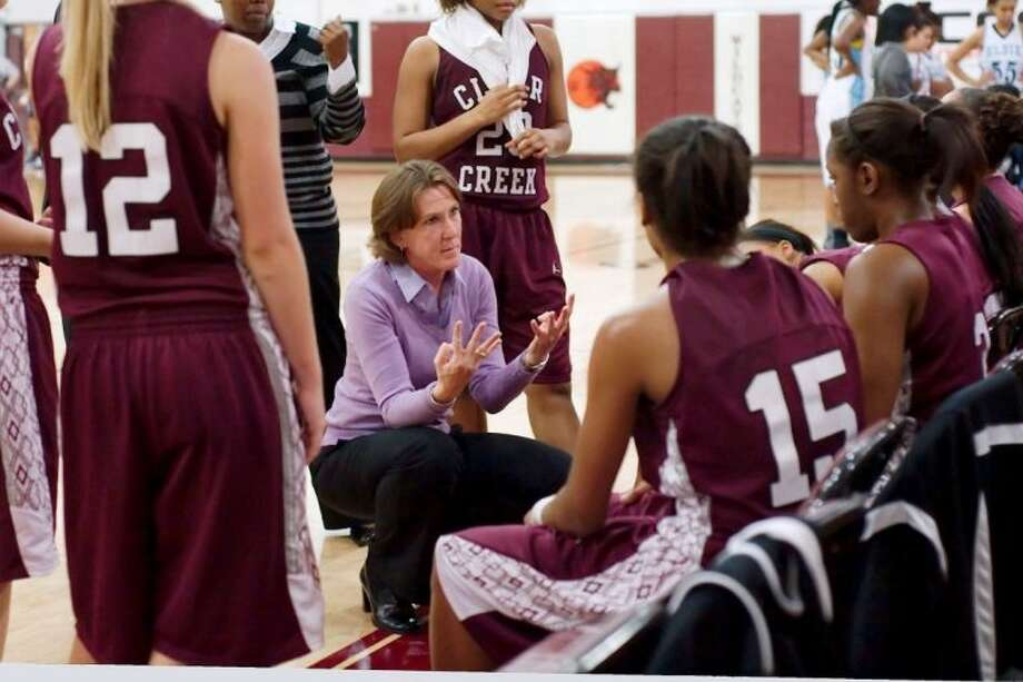 Clear Creek girls' head basketball coach and athletic coordinator Jana Williams has been hired as the assistant athletic director for the Pasadena Independent School District. Photo: KIRK SIDES