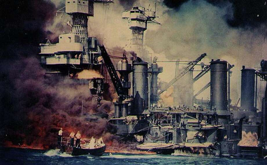The aftermath of the attack on Pearl Harbor on Dec. 7, 1941. Photo: National Archives