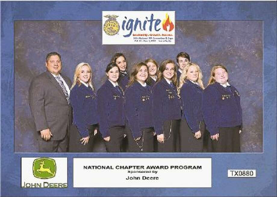The Kingwood FFA chapter of Kingwood won a 2013 National Chapter award from the National FFA Organization. / @WireImgId=2652290