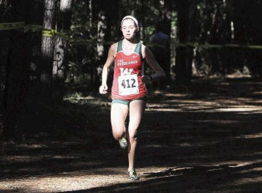 The Woodlands' Madi McLellan placed 32nd at the Nike Cross National over the weekend in Portland, Ore. / Conroe Courier