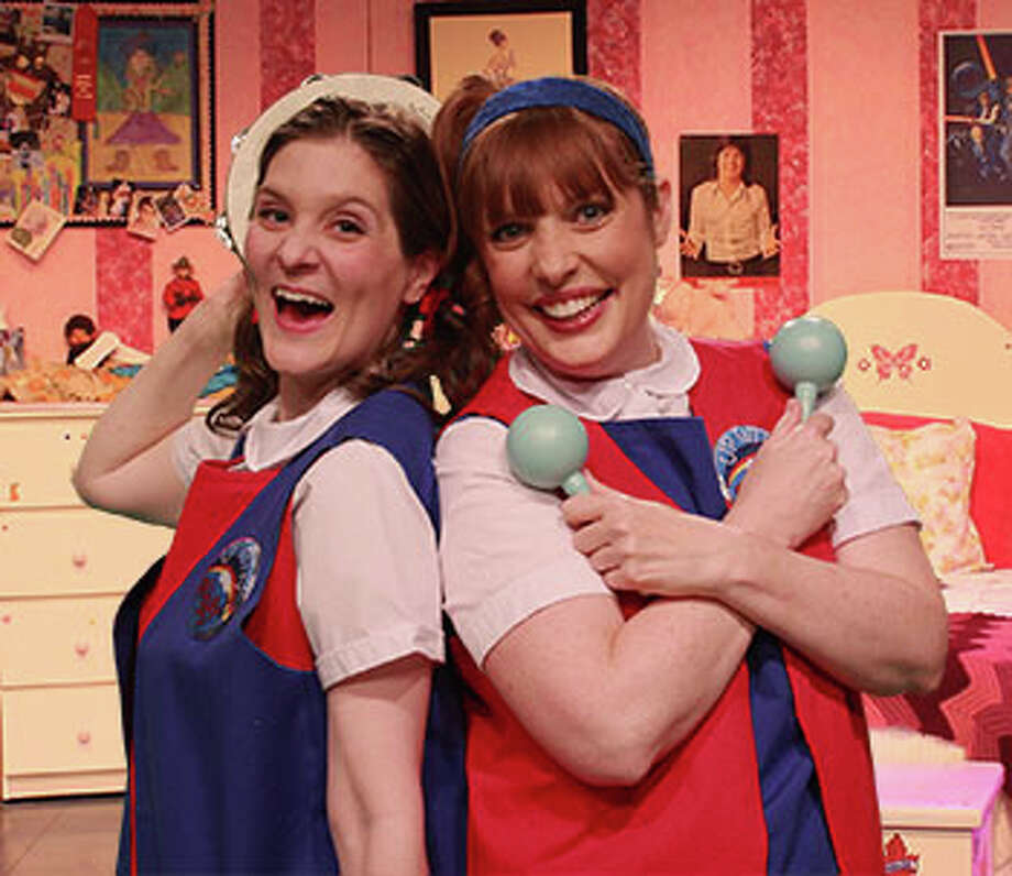 """(L-R) Shondra Marie and Tracy Ahern star in """"Girls Only."""" The show returns in January to Main Street Theater - Chelsea Market Photo: Art Ornelas / ricornelproductions"""