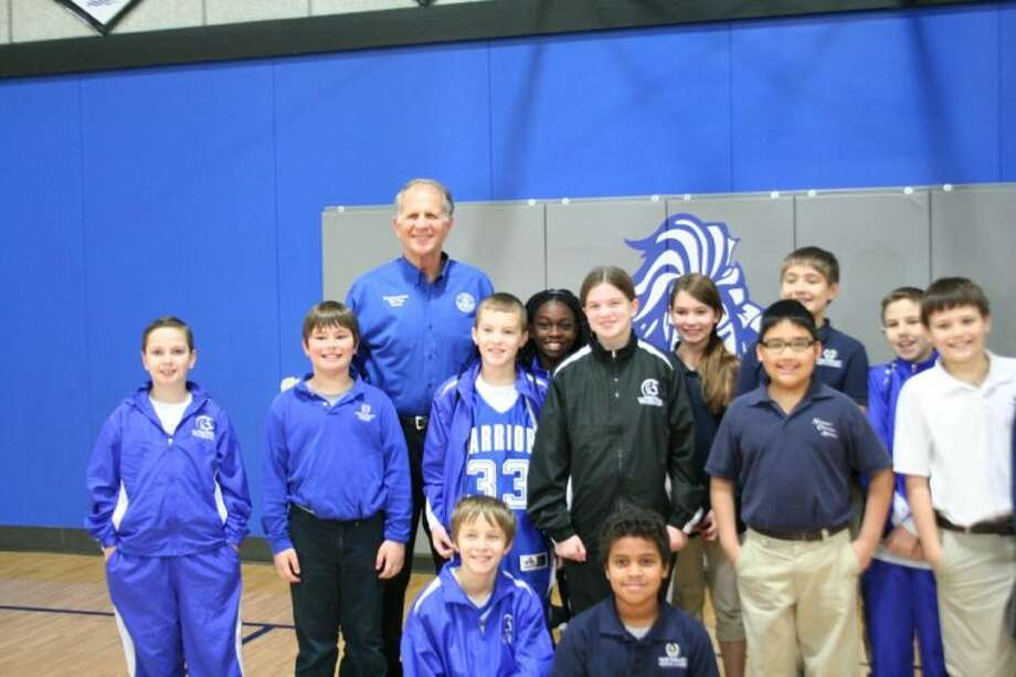 U.S. Rep. Ted Poe visited students at Northeast Christian Academy Monday. Photo: Nate Brown