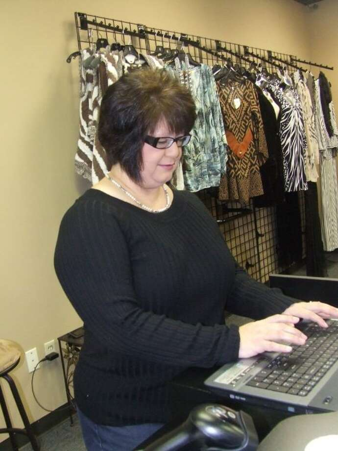 Debbie Navvaro, owner of Double Dee's Boutique, open the store in November.