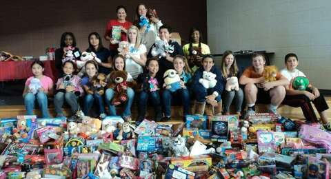 Students and staff across the district give back during the