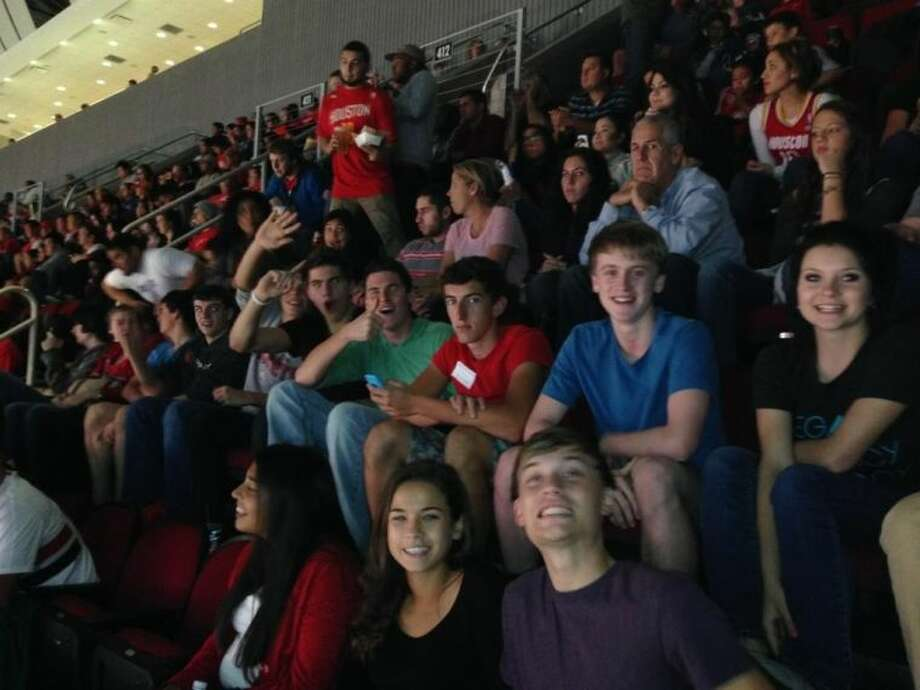Students in the Magnolia West DECA program recentely participated in the Houston Rockets DECA Day.
