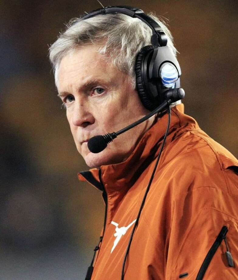 Texas coach Mack Brown's future with the program is uncertain.