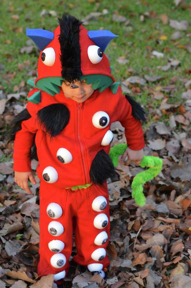 Your kid will be the talk of the town in this incredible monster costume. Photo: Dana Guthrie
