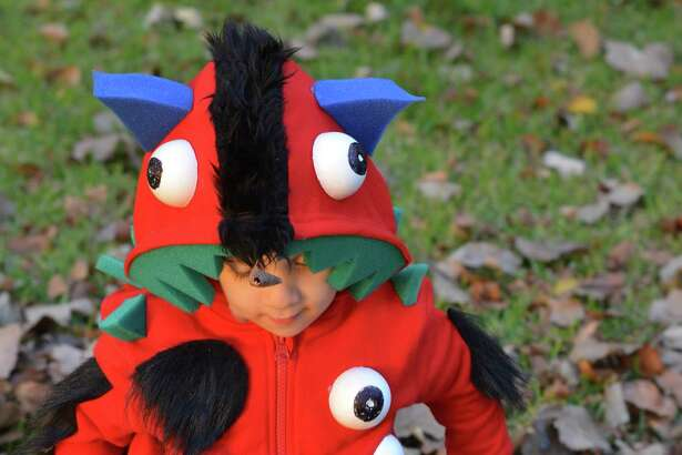 Your kid will be the talk of the town in this  incredible monster costume .