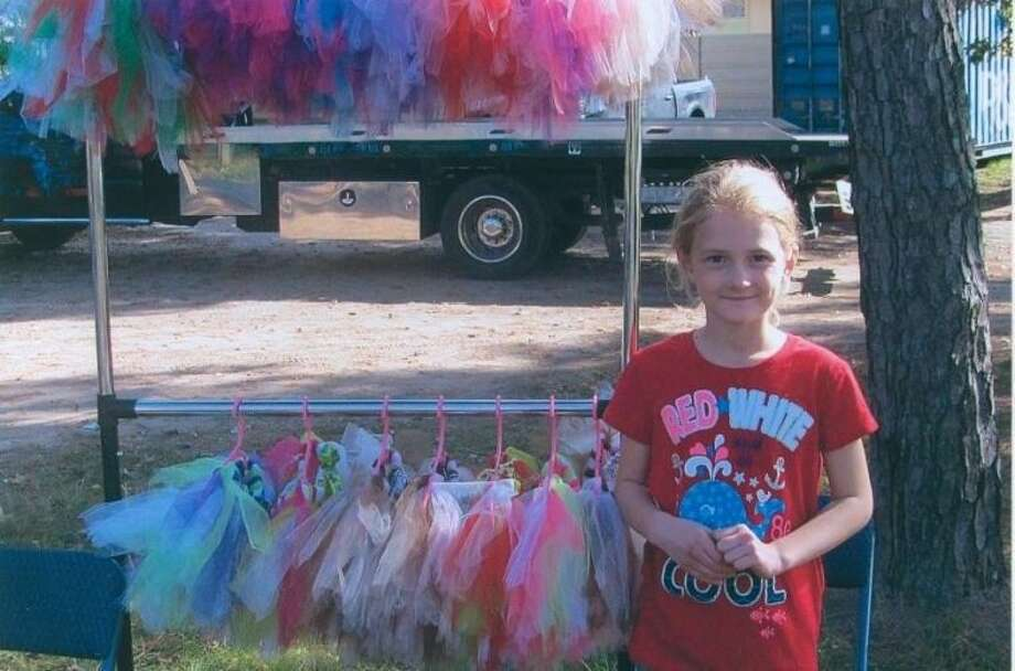 Tori Hendrickson hand-sews tutus to raise money for the Cleft Palate Foundation. Photo: Submitted Photo