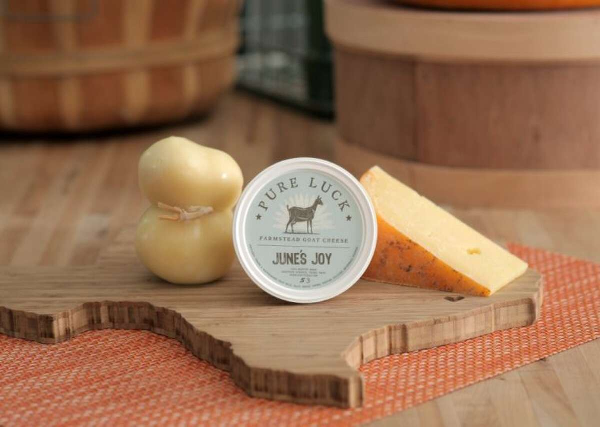 Offering gift boxes in a range of prices, enjoy Houston Dairymaids' Texas Trio.