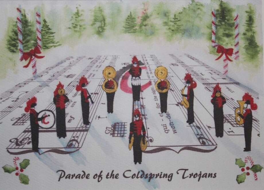 The Coldspring-Oakhurst High School band boosters are selling holiday greeting cards for $5 for a set of three cards.
