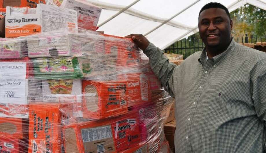Montgomery County Food Bank President Rodney Dickerson will lead the food bank into the next phase as it prepares to move into its 60,000-square-foot facility in March 2014.