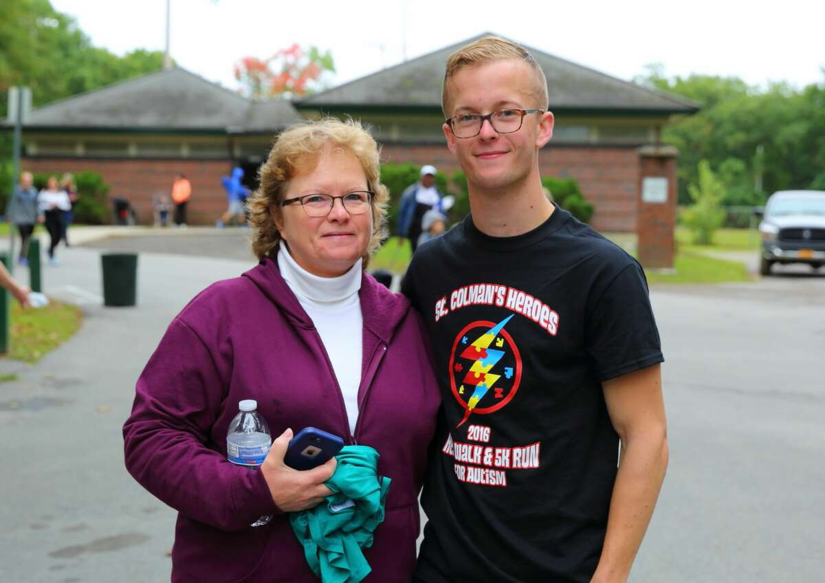 Were you Seen at the Autism Society of the Greater Capital Region's 13th Annual Hero Walk and 5K at the Central Park in Schenectady, Oct. 1, 2016?