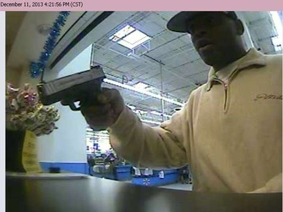 Pearland Police are searching for a Houston man they believe robbed an east Pearland Wal-Mart Wedndesday (Dec. 11). Anthony Shaffer, 29, has been identified by police as the alleged robber. His whereabouts are currently unknown and police say he is considered armed and dangerous. Anyone with information is asked to police at 281-997-4100. Photo: Courtesy Pearland Police