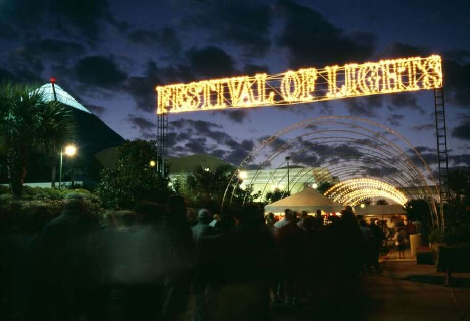 Moody Garden's Festival of Lights runs from Dec. 12 to Jan. 4. Photo: Submitted Photo