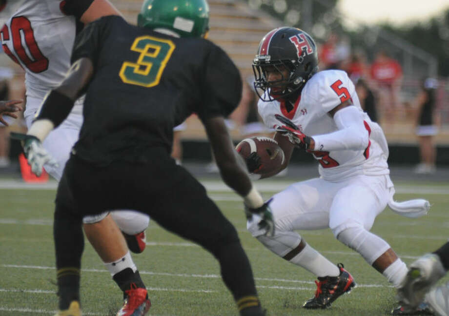Huffman's Darion Gray was named second-team All-State by the APSE.