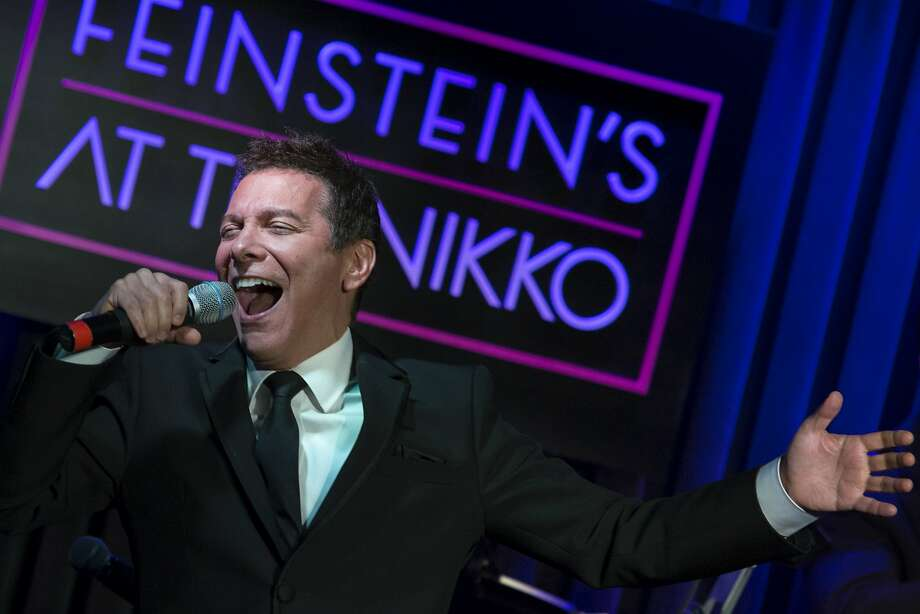 Michael Feinstein sings at his Hotel Nikko tribute to Judy Garland. He was joined by Garland's daughters, Lorna Luft and Liza Minnelli. Photo: Santiago Mejia, Special To The Chronicle