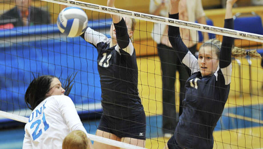 Kingwood grad Melanie Wannamaker, right, was named to her second All-American team recently for the Colorado School of Mines. Photo: Photo Courtesy Of Colorado School Of Mines /  Kearney Hub
