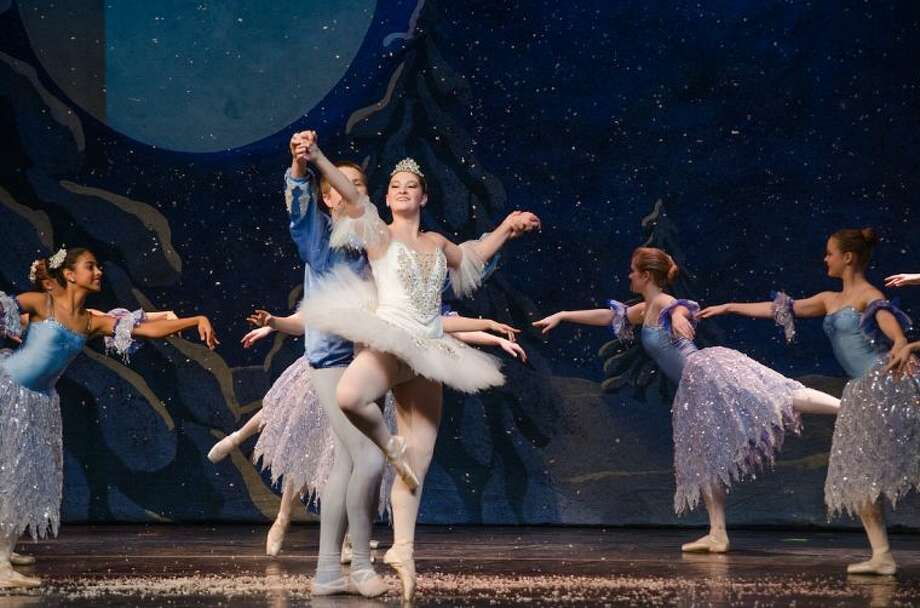 "Magnolia High school senior Charlotte Doughtery performed as the Snow Queen in The Woodlands Dance Company annual performance of ""The Nutcracker."""