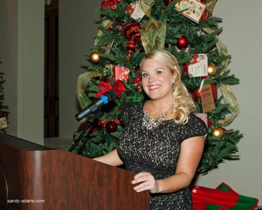 Erin Webb, from YourTownTV.com, emceed the festivities of the evening.