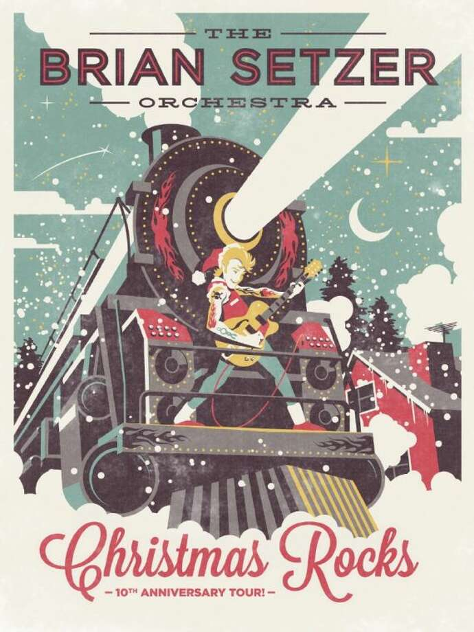 Brian Setzer and his rockin' big band are hitting the road this holiday season to bring you all your favorite tunes. They'll be at Arena Theater on Dec. 14.