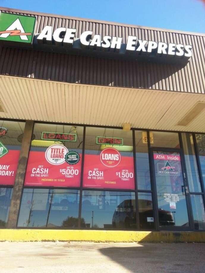 An Ace Cash Express, located at State Highway 6 near Glenn Lakes Lane in Missouri City. Photo: Zach Haverkamp