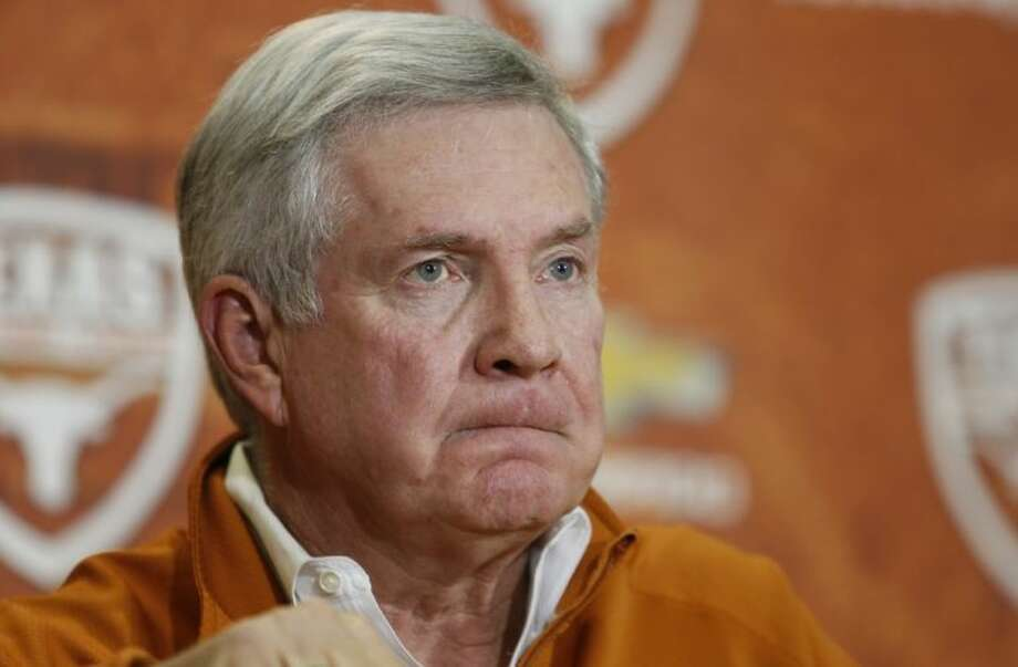 Texas coach Mack Brown announces that he is stepping down on Sunday in Austin. The Longhorns have had four straight seasons with at least four losses. Brown's final game will be the Dec. 30 Alamo Bowl against Oregon.
