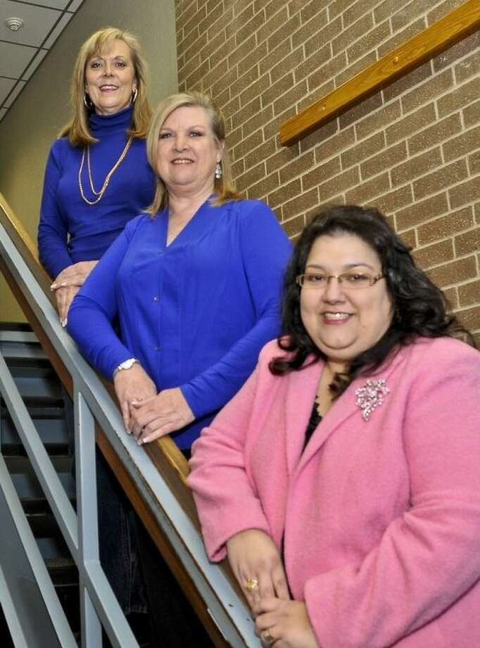San Jacinto College has named Cristina Cárdenas, Cindra Daniels, and Tammy Miller as its 2014 Minnie Stevens Piper Professor nominees. Photo credit: Andrea Vasquez, San Jacinto College marketing, public relations and government affairs department.