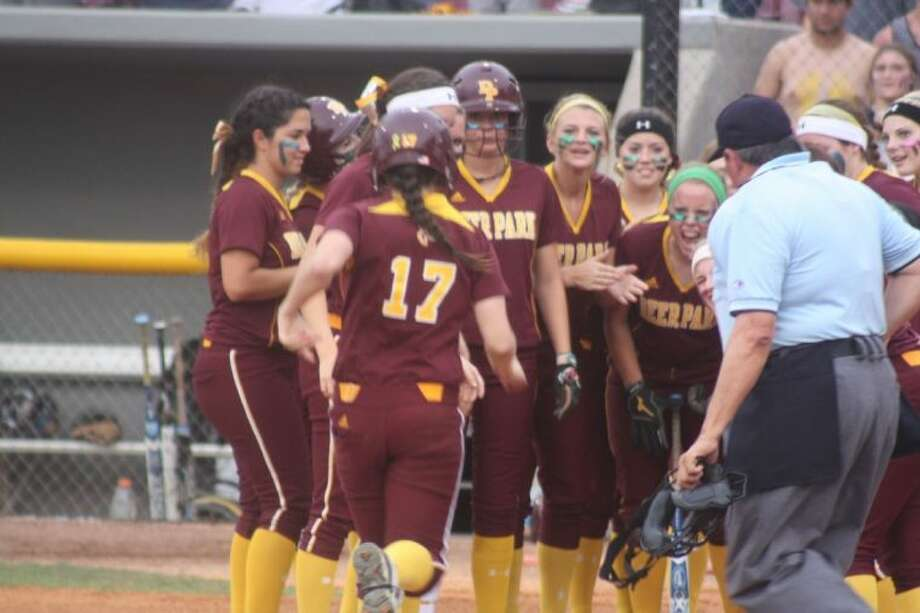 With a second straight stellar Lady Deer softball season, the winning comments were plenty from their dugout. Photo: Robert Avery