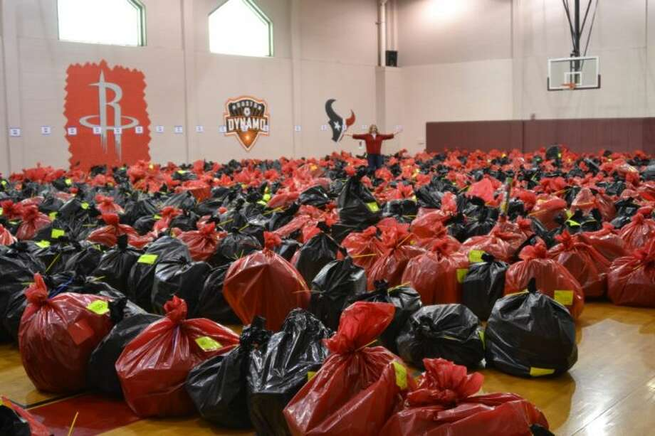 The Salvation Army Northwest collects a gym full of Christmas presents to serve 50 families every 30 minutes.