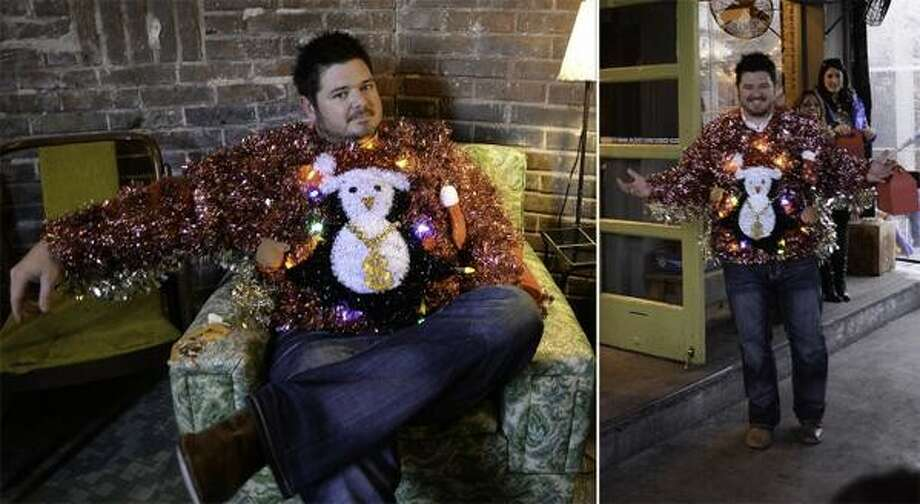 Dillon Martin wins the TODAY Show's Ugly Sweater Contest.