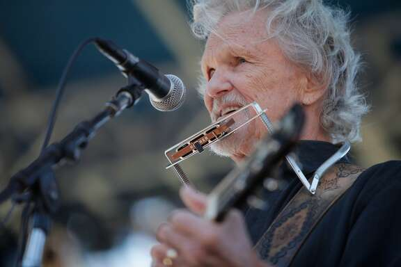 Kris Kristofferson at the 16th annual Hardly Strictly Bluegrass Music Festival at Golden Gate Park on Saturday, Oct. 1, 2016 in San Francisco, Calif.
