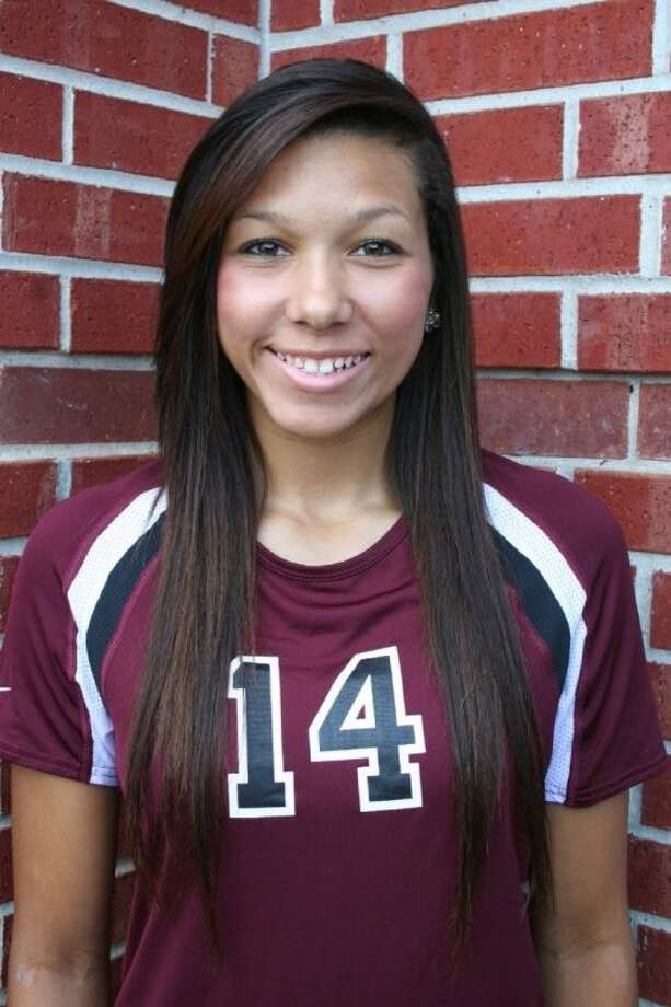 Magnolia High School senior Kerstin Jenkins has been honored as hitter of the year in the District 18-4A all-district volleyball team. Photo: Submitted Photo