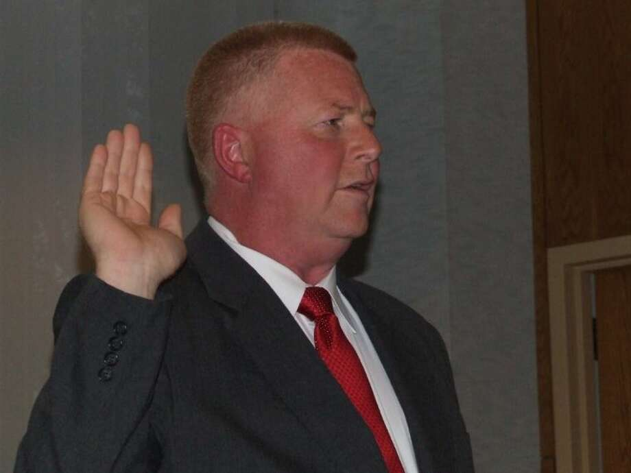 Friendswood city councilman Carl Gustafson is also the chairman of the Galveston County GOP. Photo: JEFF NEWPHER