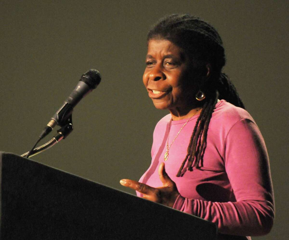 Alice Green speaks during the Albany?'s LIGHT Summer Youth Employment Program (SYEP) annual Recognition Event at the Palace Theater on Friday Aug. 7, 2015 in Albany, N.Y. (Michael P. Farrell/Times Union)