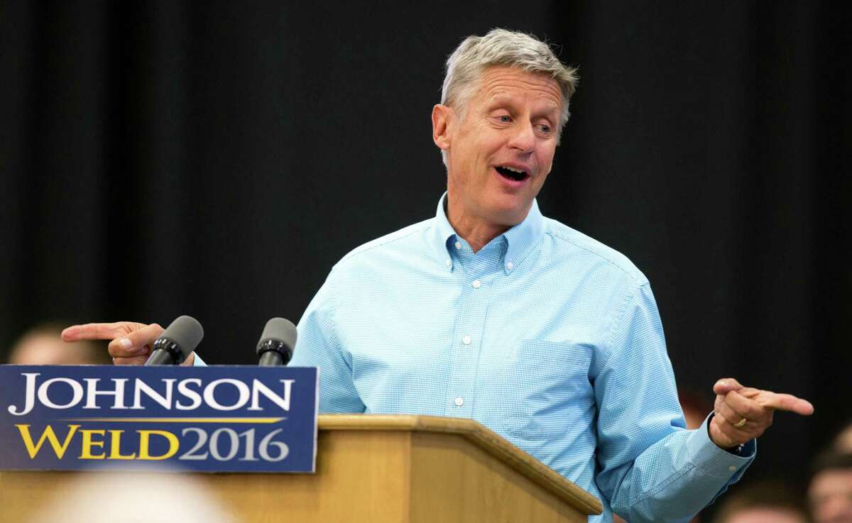 Gary Johnson Former New Mexico Gov. Gary Johnson, running for President as a Libertarian, did well in his home state, taking 5.4 percent of the vote. Johnson was on the ballot in all 50 states.
