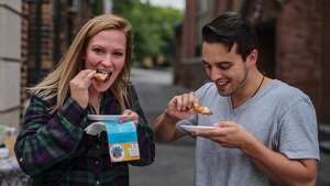 Were you Seen at Proctors' 5th Annual Wing Walk tasting wings from nearly two dozen eateries in downtown Schenectady on Saturday, Oct. 1 , 2016?