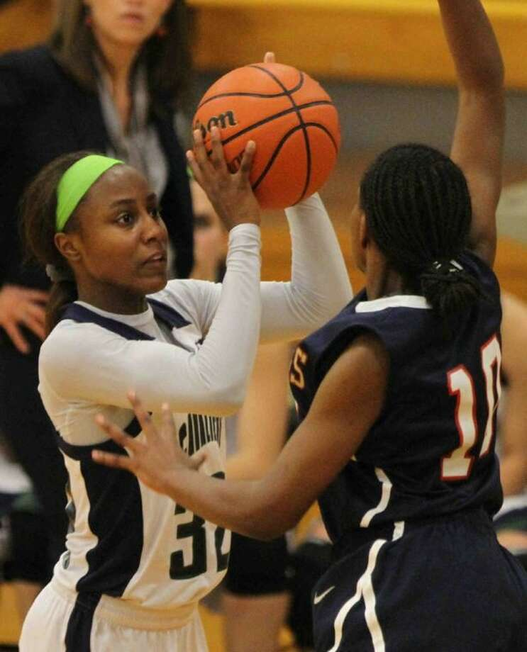 College Park senior Alexia Sanders is the All-District 14-5A Most Valuable Player.
