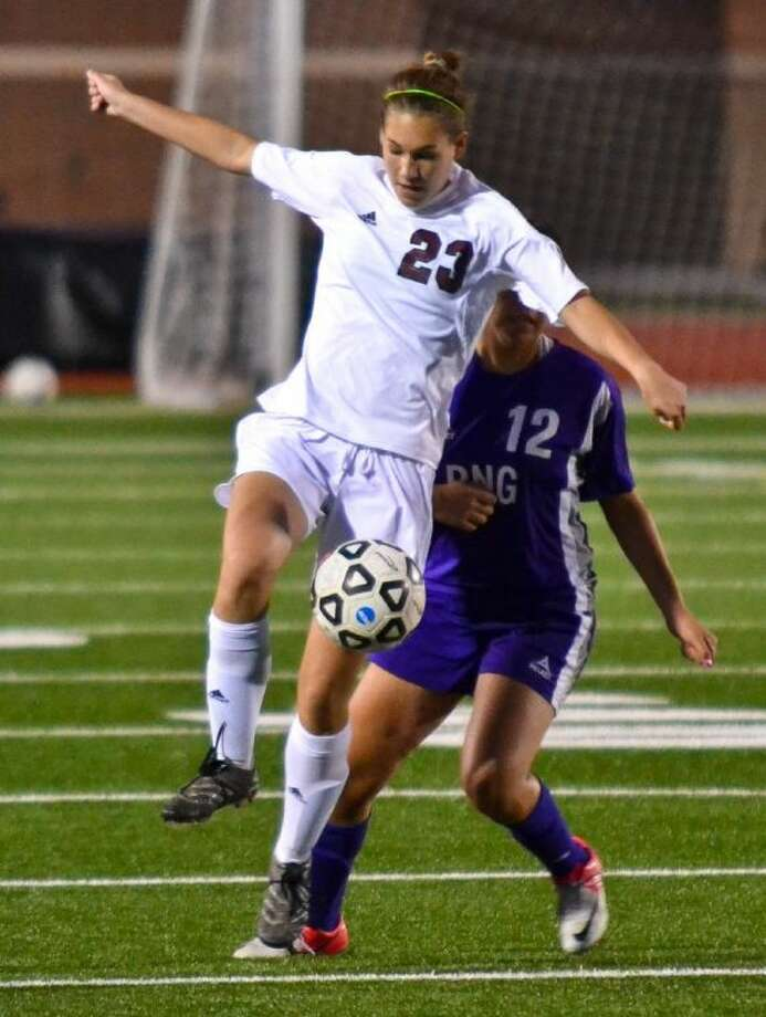 Eliza Dufford and the Magnolia Lady Bulldogs will play Kingwood Park in the Region III-4A semifinals Friday.