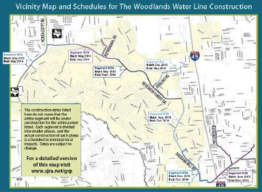 Construction on the Groundwater Reduction Plan started in May and will continue until October 2014.