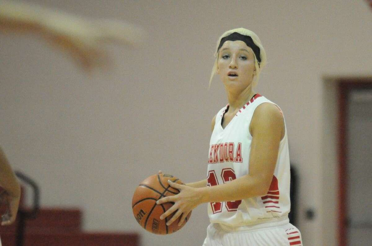 Splendora's Briana Helms is The Courier's Montgomery County Offensive MVP.