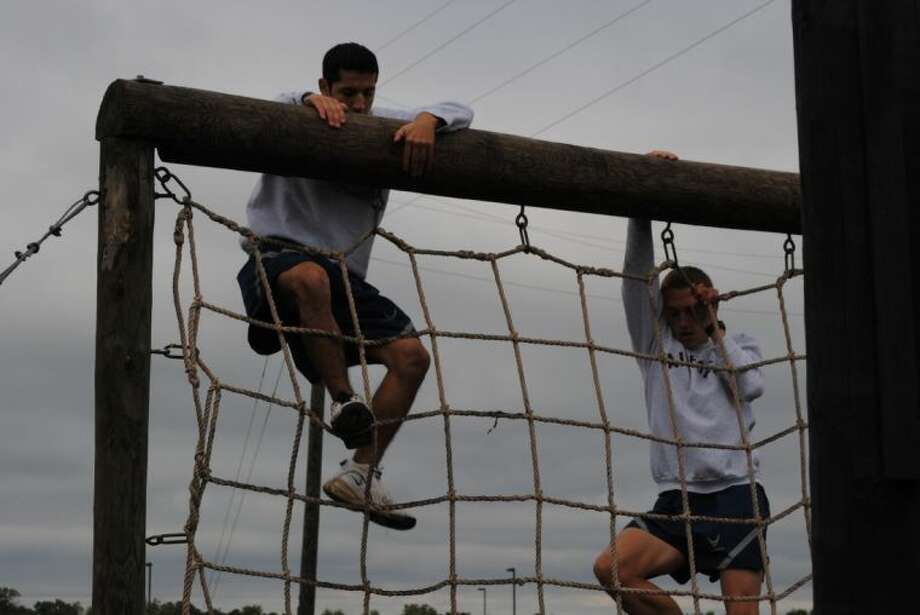 Kingwood Park's AFJROTC cadets placed in several events at Hargrave's military skills meet. Photo: Submitted Photo