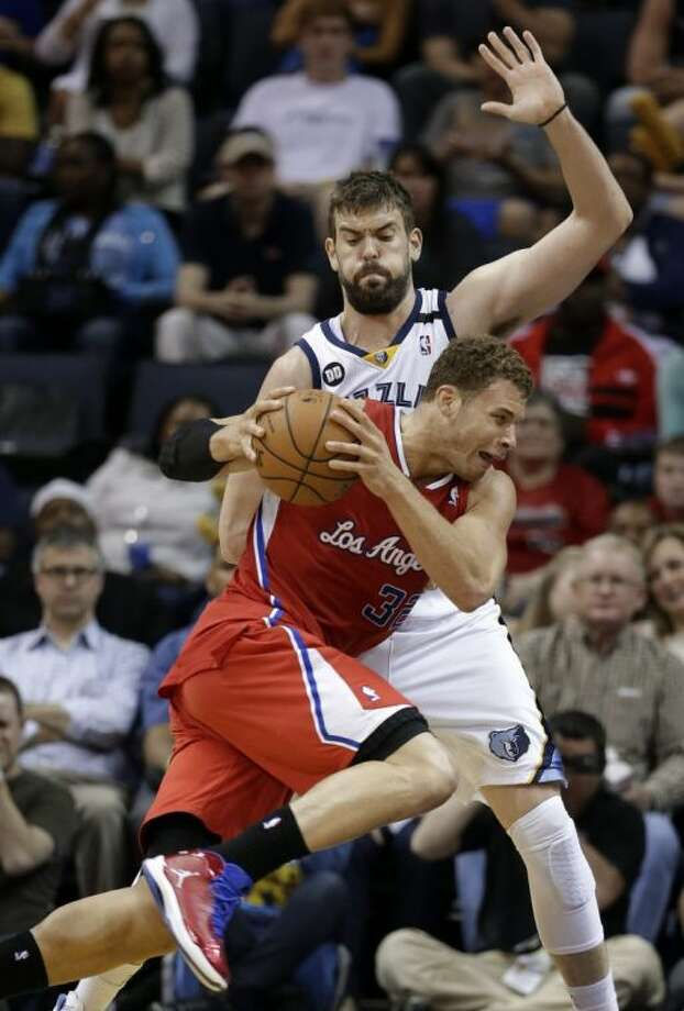 Memphis Grizzlies center Marc Gasol won his first NBA Defensive Player of the Year award Wednesday.