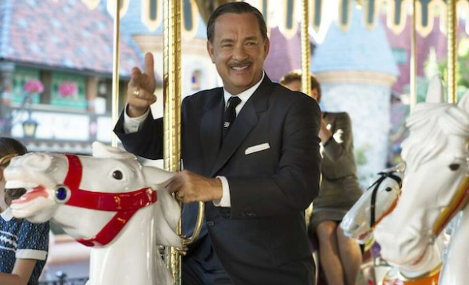"Walt Disney (Tom Hanks), left, in Disney's ""Saving Mr. Banks."" / ©Disney Enterprises, Inc.  All Rights Reserved."